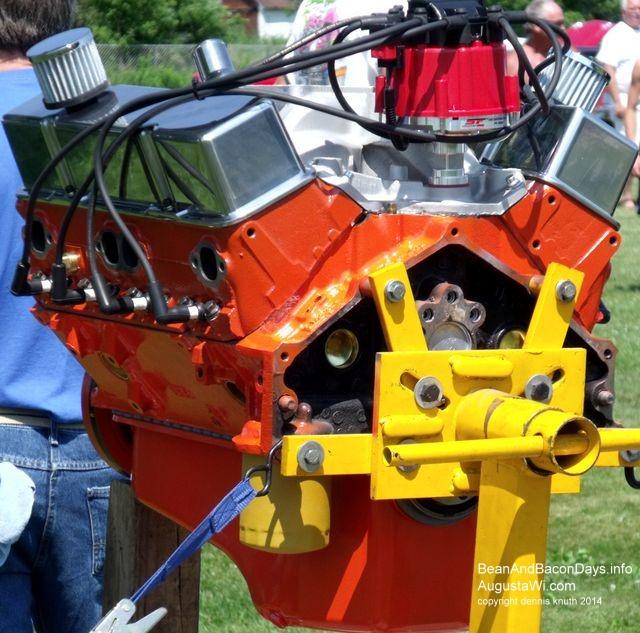 Rebuilt Engine By Thunder Roads Car Club - Augusta car show